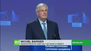 Brexit : le Royaume-Uni et l'UE parviennent à un nouvel accord