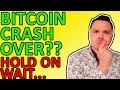BTC CRASH OVER? MY BITCOIN ANALYSIS, AND SOME SURPRISINGLY BULLISH BITCOIN NEWS TODAY