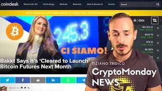 Bitcoin BITCOIN Futures su BAKKT da Settembre! - CryptoMonday News