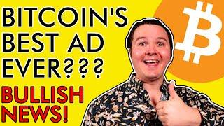 BITCOIN THIS COULD BE THE BEST BITCOIN ADVERTISEMENT EVER!!! BIG BUY SIGNALS FLASHING! [Mega Bullish News]