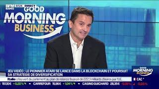 ATARI Frédéric Chesnais (Atari) : Le pionnier du jeu vidéo Atari se lance dans la blockchain