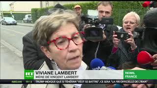 Rassemblement à Reims en soutien à Vincent Lambert