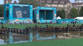 EURO 2020 fan-zone opens in Budapest ahead of Hungary vs Portugal game