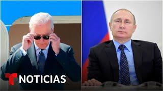 Así se ha preparado Joe Biden para el crucial encuentro con Vladimir Putin | Noticias Telemundo