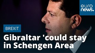 British territory Gibraltar 'could stay in Schengen Area after Brexit'