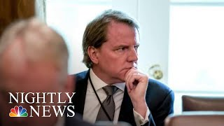 President Donald Trump Directs Don McGahn To Defy Congressional Subpoena | NBC Nightly News