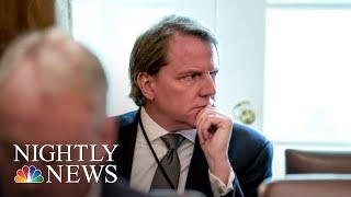 President Donald Trump Directs Don McGahn To Defy Congressional Subpoena   NBC Nightly News
