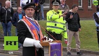 ORANGE Orange Order march rerouted to avoid Catholic church