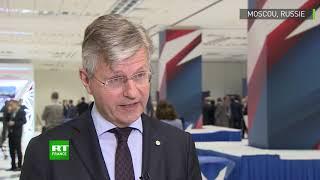 LACROIX SA Entretien de Jean-Pierre Lacroix en marge de la conférence de Moscou sur la sécurité internationale