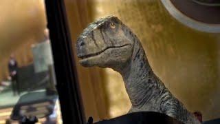 """""""Extinguirse no es bueno"""": un dinosaurio reprocha ante la ONU la insensatez climática"""