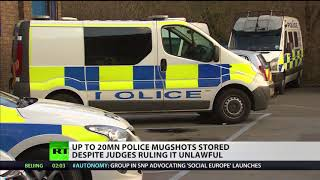 Up to 20m police mugshots stored despite judges ruling it unlawful