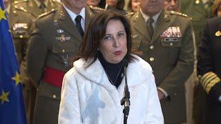 """Robles defiende """"el gran equipo"""" que hay al frente de Defensa"""