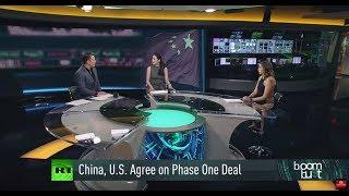 China, U.S. Strike Phase One Trade Deal