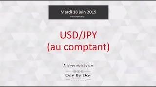 USD/JPY Vente USD/JPY au comptant - Idée de trading IG 18.06.2019