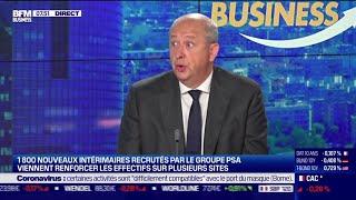 PEUGEOT Jean-Philippe Imparato (Peugeot) : Une hausse de 42% du portefeuille de commandes de Peugeot