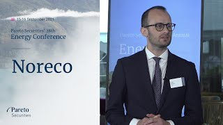 Noreco: Pareto Securities 28th Annual Energy Conference