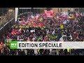 Grève contre la réforme des retraites : suivez en direct l'édition spéciale de RT France
