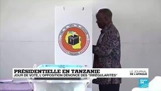 """Présidentielle en Tanzanie : l'opposition dénonce des """"irrégularités de grande ampleur"""""""