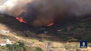 Arde ancora la Gran Canaria