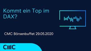 DAX30 PERF INDEX Kommt ein Top im DAX? (CMC Börsenbuffet 29.5.20)