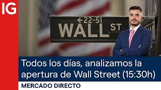 DOW JONES INDUSTRIAL AVERAGE 🔴 Mercado Directo - Análisis de la apertura de Wall Street (06/05/2021)