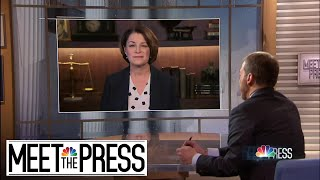 Sen. Klobuchar: Trump's Defense Team, Republicans 'Afraid To Hear From Witnesses' | Meet The Press