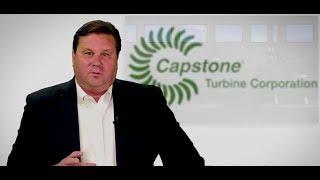 CAPSTONE TURBINE Capstone Turbine - Elevator Pitch