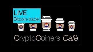 BITCOIN CryptoCoiners Café: 29 mei - LIVE traden met Bitcoin