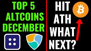 TOP 5 ALTCOINS FOR DECEMBER 2020 FOR BIG PROFIT