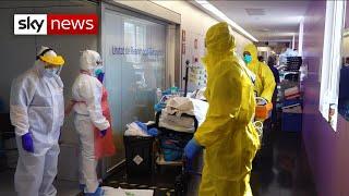 UNIT CORP. Coronavirus: Inside an intensive care unit in Barcelona