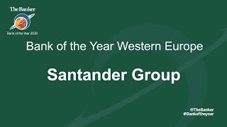 SANTANDER Bank of the Year 2019 - Western Europe Winner: Santander Group