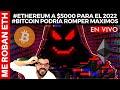 ️🔥ME ROBAN #ETH - #ETHEREUM A $5000 PARA EL 2022 #BITCOIN PODRIA ROMPER MAXIMOS