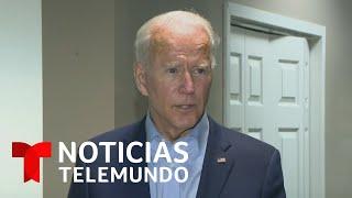 Joe Biden dice que el senado debería esperar a las elecciones para reemplazar a la jueza Ginsburg