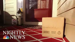 How One Police Department Is Combatting The Growing Number Of Porch Pirates | NBC Nightly News