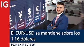 EUR/USD El EUR/USD se mantiene sobre los 1,16 DÓLARES   Forex Review