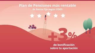 +3% de bonificación en Planes de Pensiones