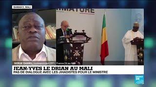 Mali : Paris et Bamako en désaccord sur un possible dialogue avec les jihadistes