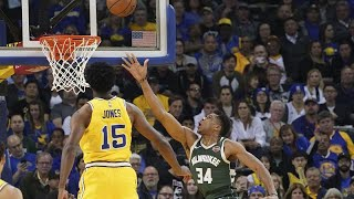 ORACLE CORP. NBA: i Bucks espugnano l'Oracle Arena, Warriors k.o.