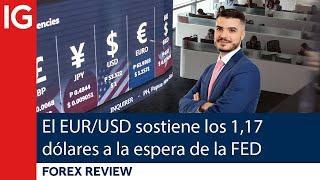 EUR/USD El EUR/USD sostiene los 1,17 dólares a la espera de la FED | Forex Review
