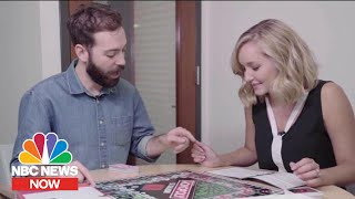 HASBRO INC. Playing Hasbro's New Monopoly Edition: Socialism | NBC News Now