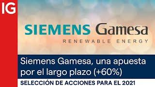SIEMENS GAMESA Acciones con mayor potencial para el 2021 | Siemens Gamesa, una apuesta por el largo plazo
