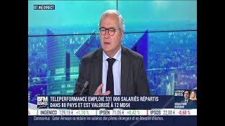 TELEPERFORMANCE Olivier Rigaudy (Teleperformance): Le leader de la relation client Teleperformance intègre le CAC 40