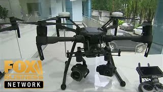 Chinese company at the forefront of drone business