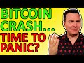 BITCOIN PRICE CRASH!!! Time to Panic? Here's my Bitcoin Analysis