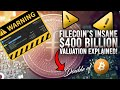 Filecoin (FIL) Launched At $400 BILLION Valuation!! What's Next?