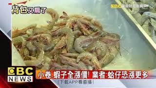 白鹿颱風生成! 龍鬚菜破百、蛤仔漲3成