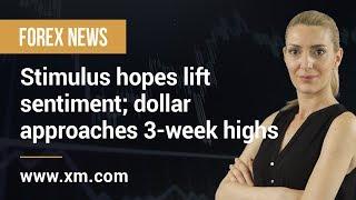 Forex News: 20/08/2019 - Stimulus hopes lift sentiment; dollar approaches 3-week highs