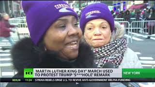 REMARK HOLDINGS INC. Martin Luther King Day march used to protest Trump 's***hole' remark