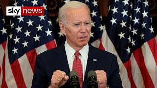 BREAKING: Joe Biden pledges police reform in speech that sets the stage for the US election