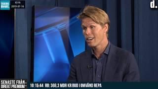Trading Direkt 2019-07-16: Gäst Carl Armfelt